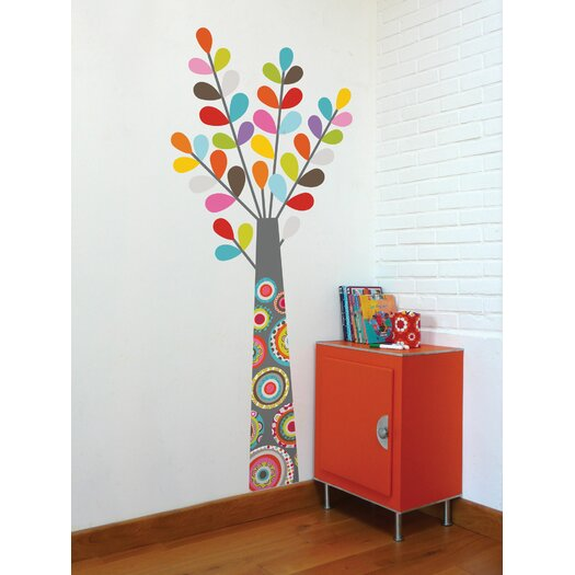 Ludo Tree Wall Decal
