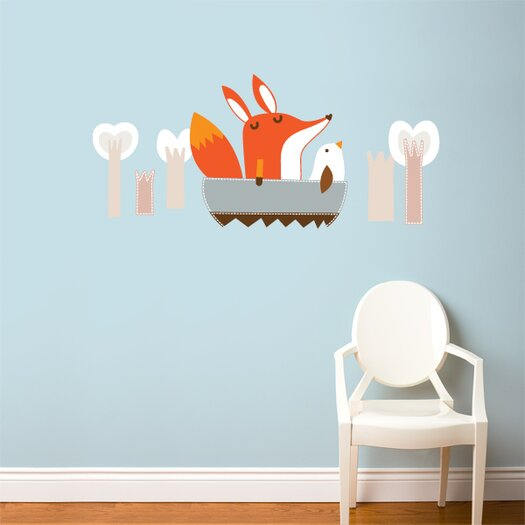 ADZif Piccolo Paolo Goes Boating Wall Sticker