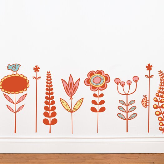 ADZif Spot Garden Wall Sticker
