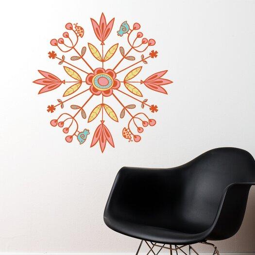 ADZif Spot Mandala Wall Sticker