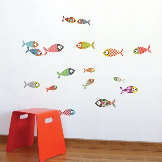 ADZif Ludo Fishes Wall Sticker