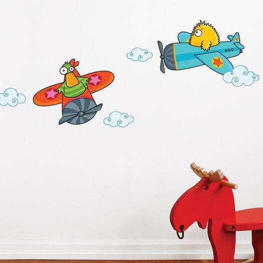 ADZif Ludo Quackety Flight Wall Decal