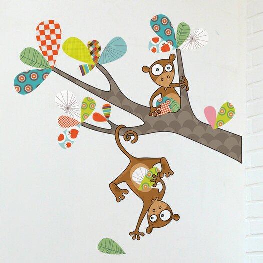 ADZif Ludo Monkey Business Wall Decal