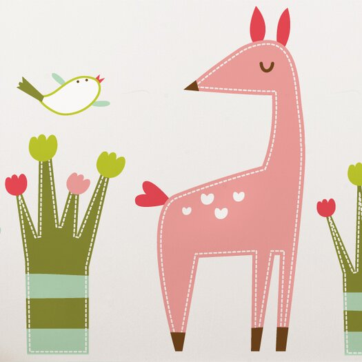 ADZif Piccolo Emma the Fawn Wall Decal