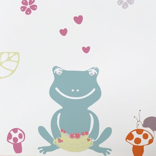 ADZif Piccolo Frog Love Wall Decal