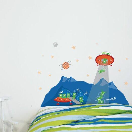 ADZif Cama Head in The Stars Wall Decal