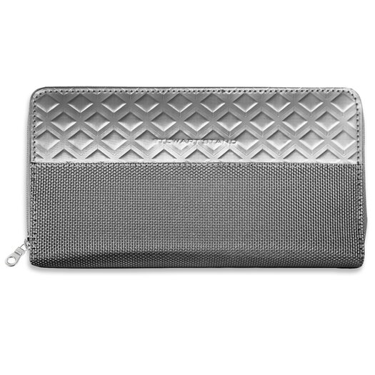 Stewart/Stand RFID Blocking Monochrome Zipper Travel Wallet