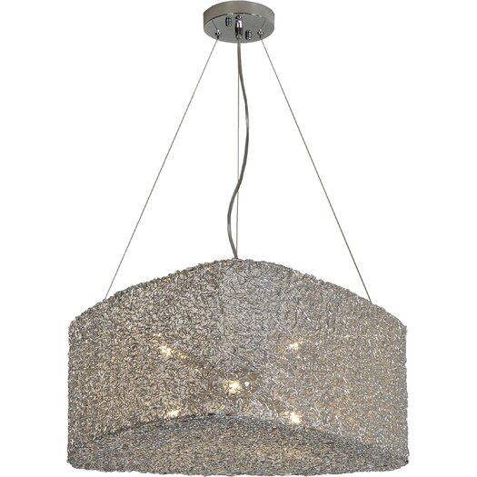 Trend Lighting Corp. Dante 6 Light Drum Pendant