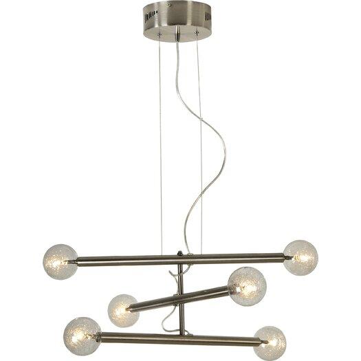Trend Lighting Corp. Mira 6 Light Chandelier