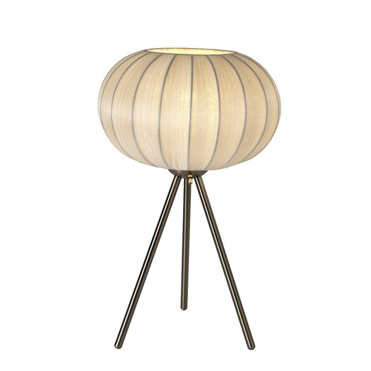 "Trend Lighting Corp. Shanghai 22.5"" H Table Lamp with Sphere Shade"
