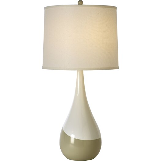 "Trend Lighting Corp. Conversation Contemporary 28.5"" H Table Lamp with Drum Shade"