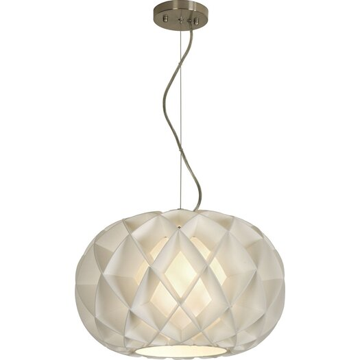 Trend Lighting Corp. Honeycomb 1 Light Globe Pendant