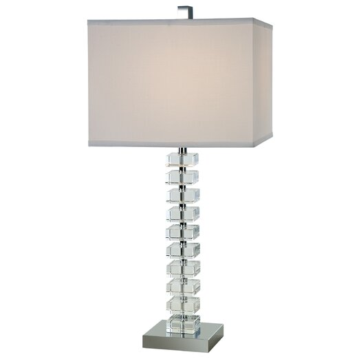 "Trend Lighting Corp. Ascension 27.5"" H Table Lamp with Square Shade"