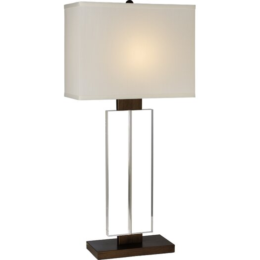 """Trend Lighting Corp. Shine 29"""" H Table Lamp with Rectangle Shade"""