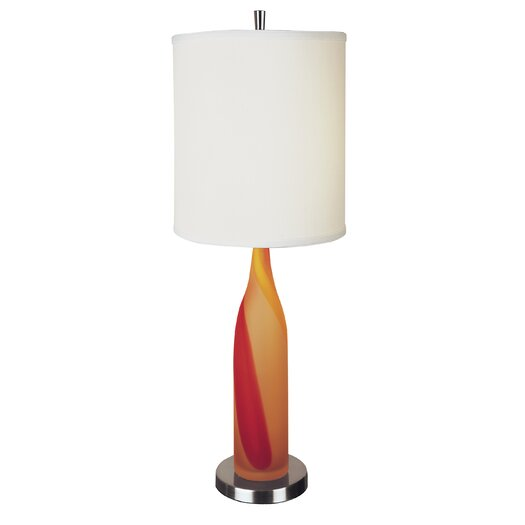 "Trend Lighting Corp. Sherbert 29"" H Table Lamp with Drum Shade"