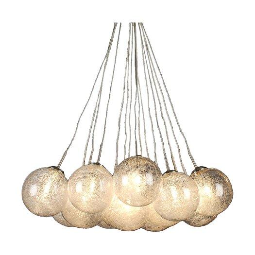 """Trend Lighting Corp. 17"""" Orb Chandelier"""