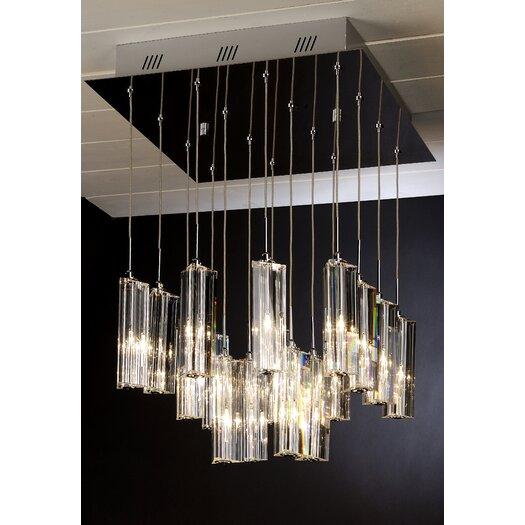 Trend Lighting Corp. Diamante 16 Light Pendant