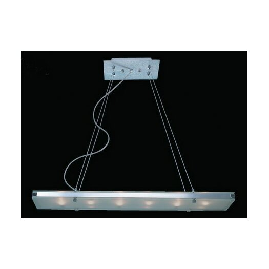 Trend Lighting Corp. Plano 6 Light Pendant