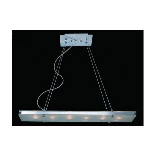 Trend Lighting Corp. Plano 6 Light Pendant