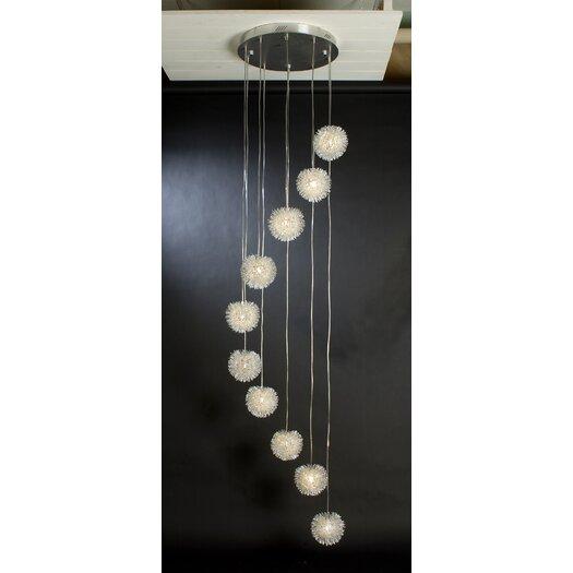 Trend Lighting Corp. Celestial 10 Light Pendant