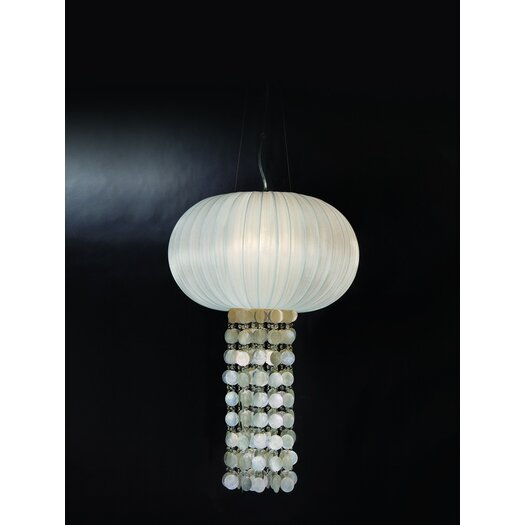Trend Lighting Corp. Montego 1 Light Oval Chandelier