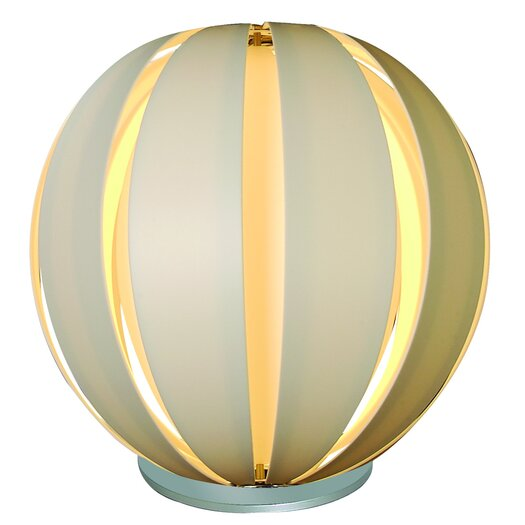 "Trend Lighting Corp. Pique 19"" H Table Lamp with Sphere Shade"