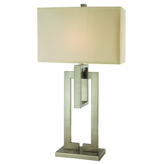 "Trend Lighting Corp. Precision 36.5"" H Table Lamp with Rectangle Shade"