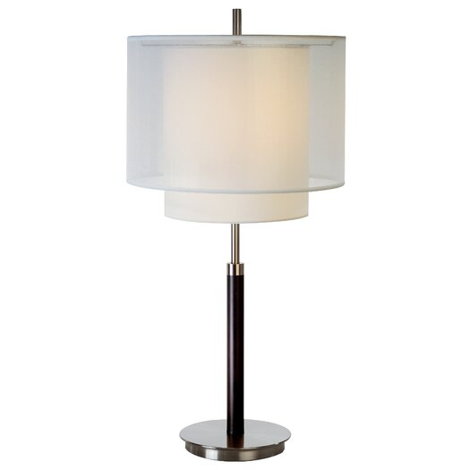 """Trend Lighting Corp. Roosevelt 30"""" H Table Lamp with Drum Shade"""