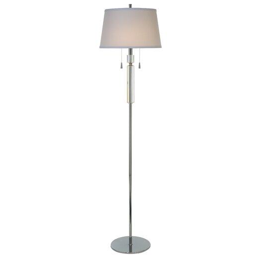 Trend Lighting Corp. Facetnation 2 Light Floor Lamp