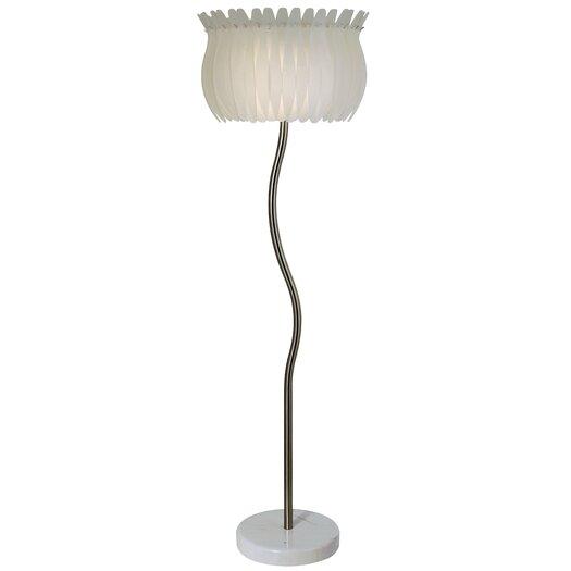 Trend Lighting Corp. Lotus 2 Light Floor Lamp