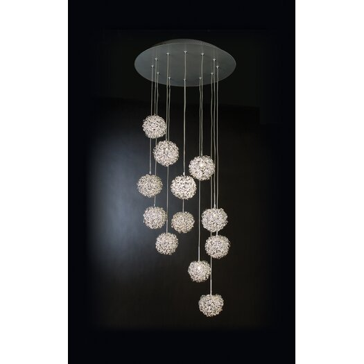 Trend Lighting Corp. 12 Light Pendant