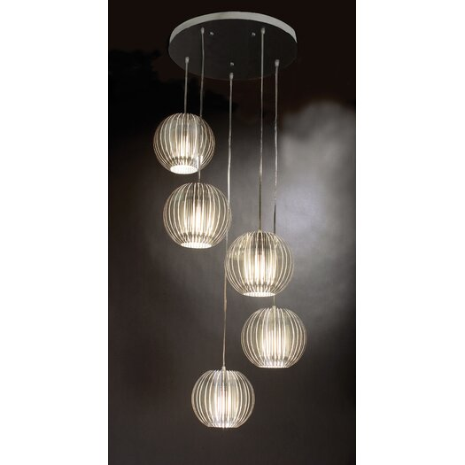 Trend Lighting Corp. Phoenix 5 Light Globe Pendant