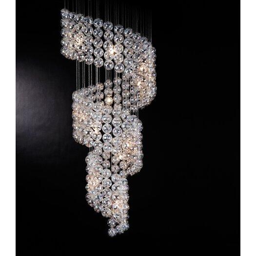Trend Lighting Corp. Cascade 15 Light Chandelier