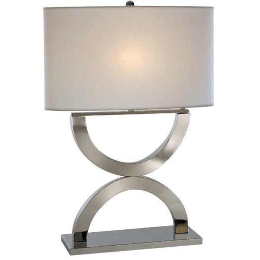 "Trend Lighting Corp. Echo 28"" H Table Lamp with Rectangle Shade"