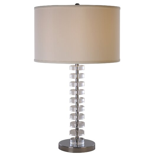 """Trend Lighting Corp. Ruminations 27"""" H Table Lamp with Drum Shade"""