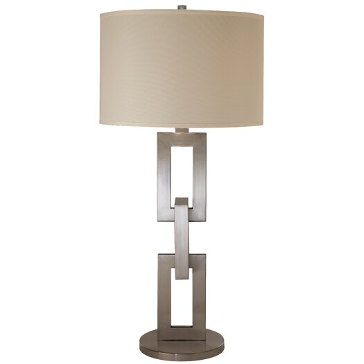 """Trend Lighting Corp. Linque 37"""" H Table Lamp with Drum Shade"""