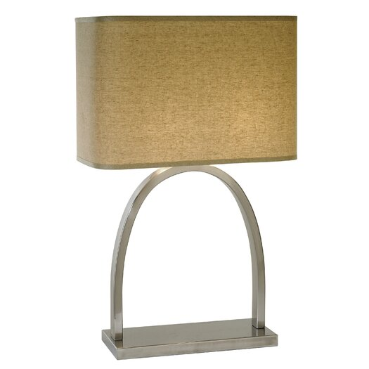 "Trend Lighting Corp. Dusk 26.5"" H Table Lamp with Rectangle Shade"