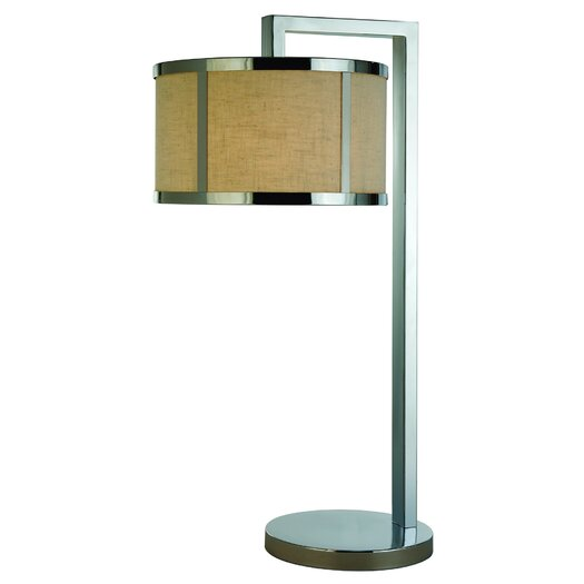 """Trend Lighting Corp. Butler 28"""" H Sleek Table Lamp with Drum Shade"""