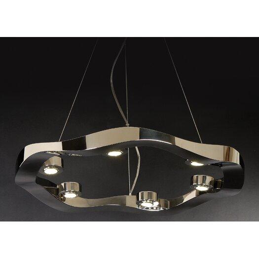 Trend Lighting Corp. Halo 6 Light Medium Pendant