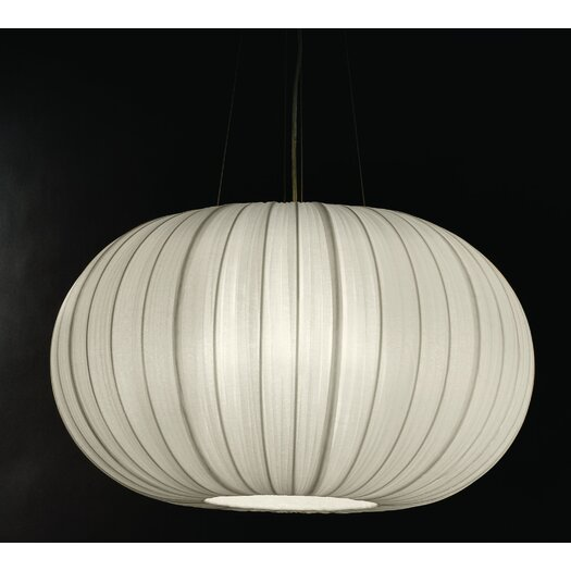 Trend Lighting Corp. Shanghai 1 Light Oval Globe Pendant