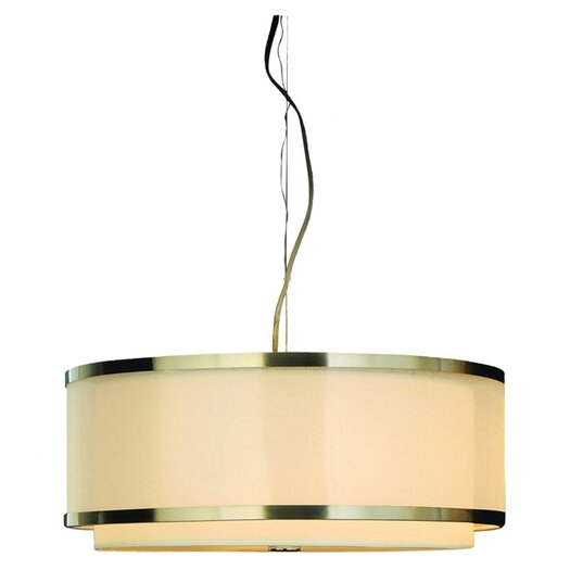 Trend Lighting Corp. Lux 3 Light Drum Pendant