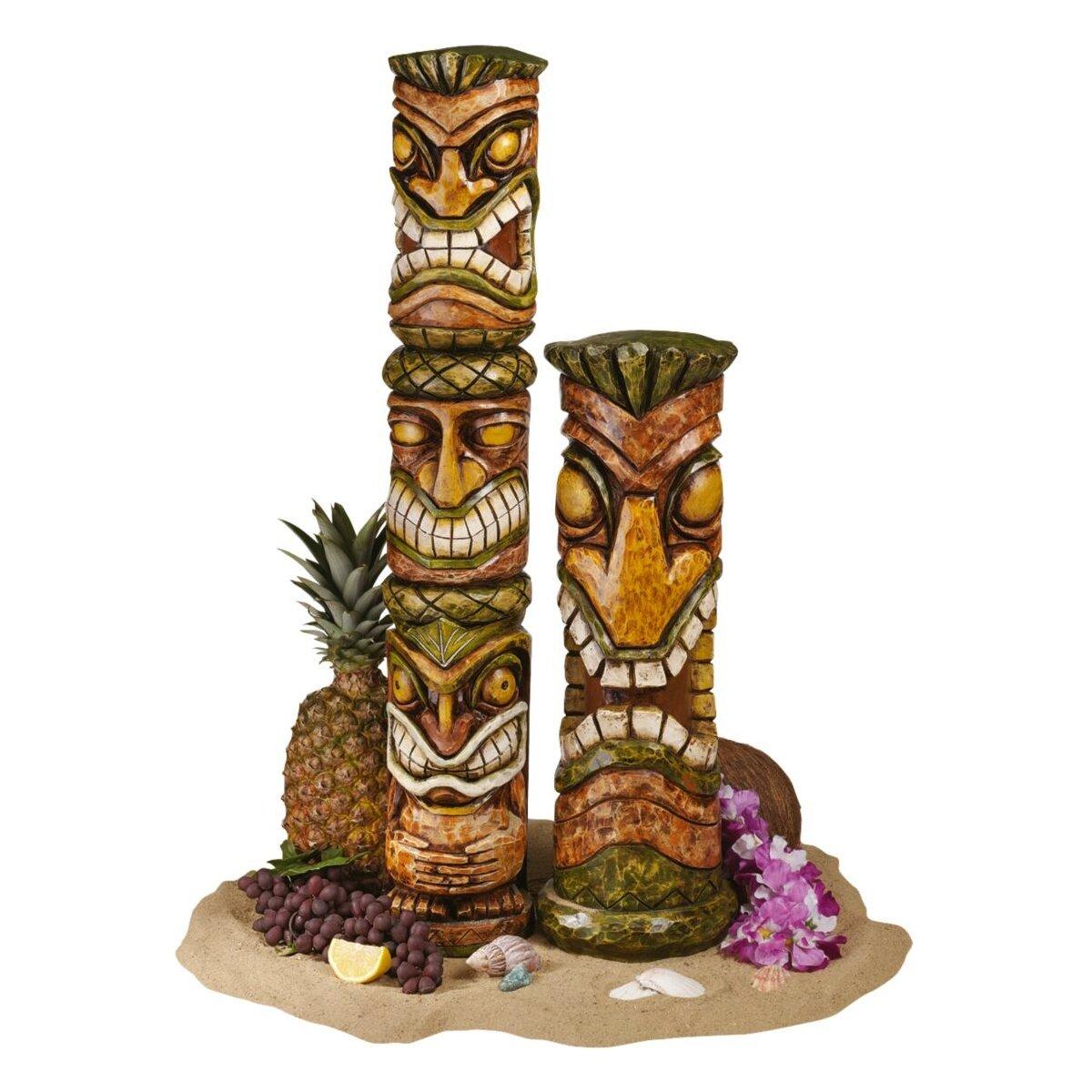 Outdoor Tiki Statues Aloha Hawaii Tiki Statue