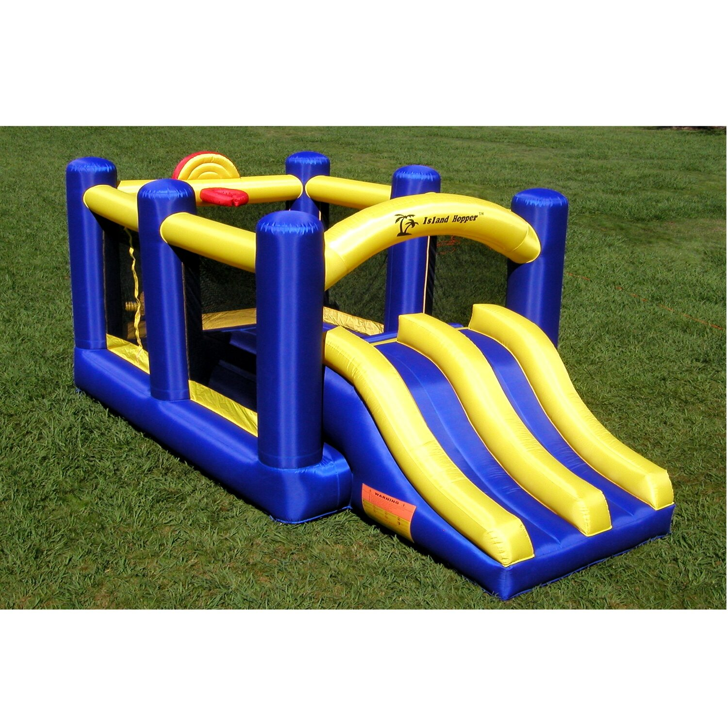 Clubhouse Bounce House And Slam Bounce House