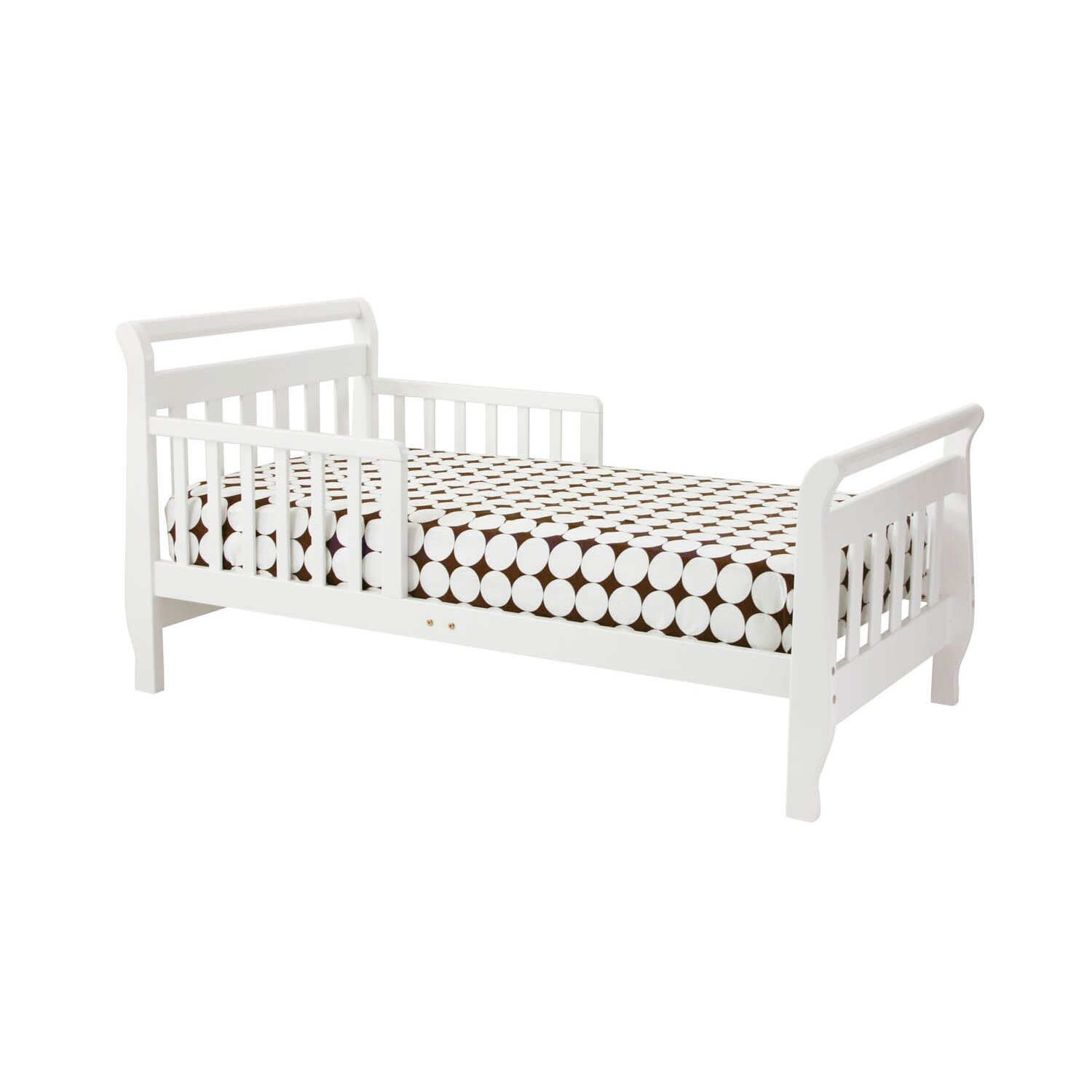 Cherry Sleigh Toddler Bed Sleigh Toddler Bed ii by