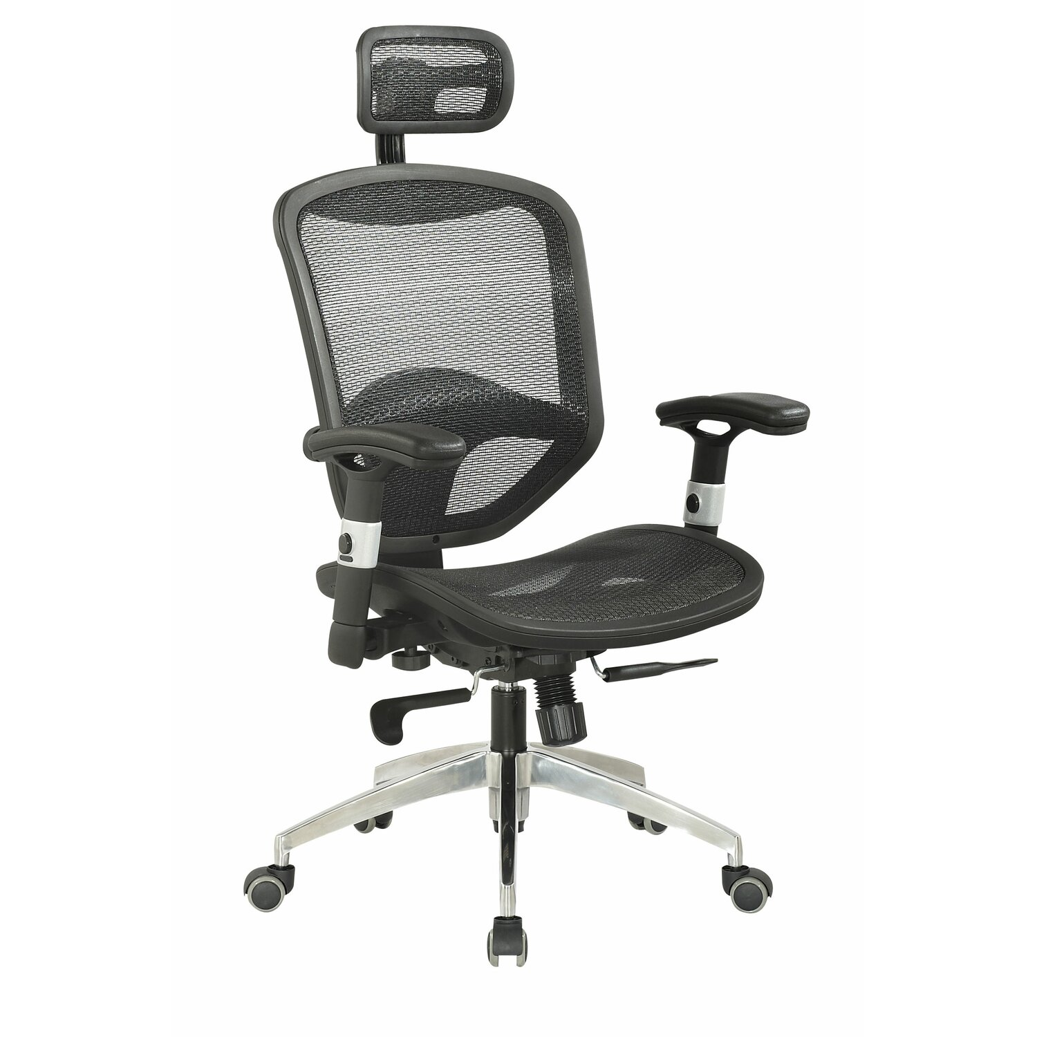 Headrest Attachment For Office Chair Office Chair With Headrest