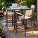 POLYWOOD® Euro 5 Piece Bar Dining Set