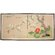 "Oriental Furniture 36"" Fly Away Little Bird Silk Screen with Bracket"