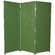 "Oriental Furniture 48"" x 48"" Woven Fiber 3 Panel Room Divider"
