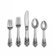 Wallace Sterling Silver Grande Baroque 46 Piece Flatware Set