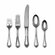 Towle Silversmiths Old Newbury 46 Piece Flatware Set / Serving Set